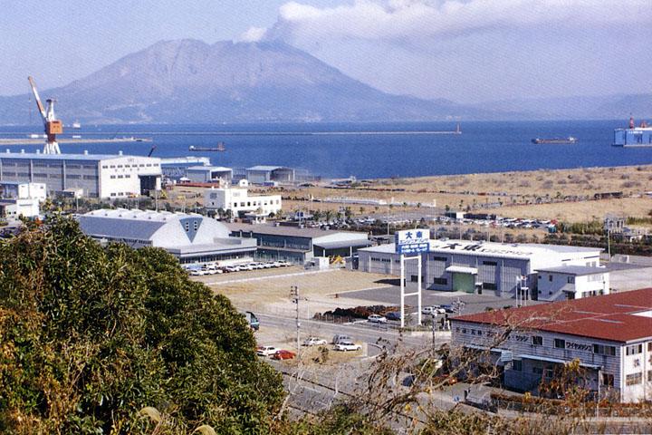 七ツ島工場周辺