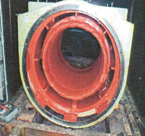 発電機捲替修理4