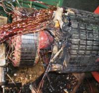 発電機捲替修理5