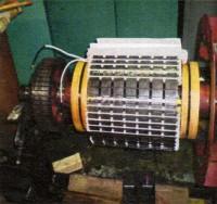 発電機捲替修理6