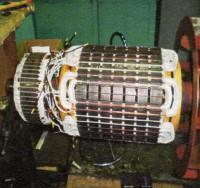 発電機捲替修理7