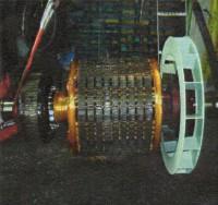 発電機捲替修理8