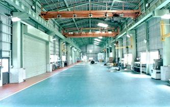 工場内全景