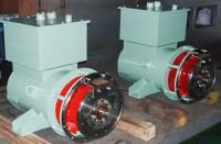 中形発電機整備